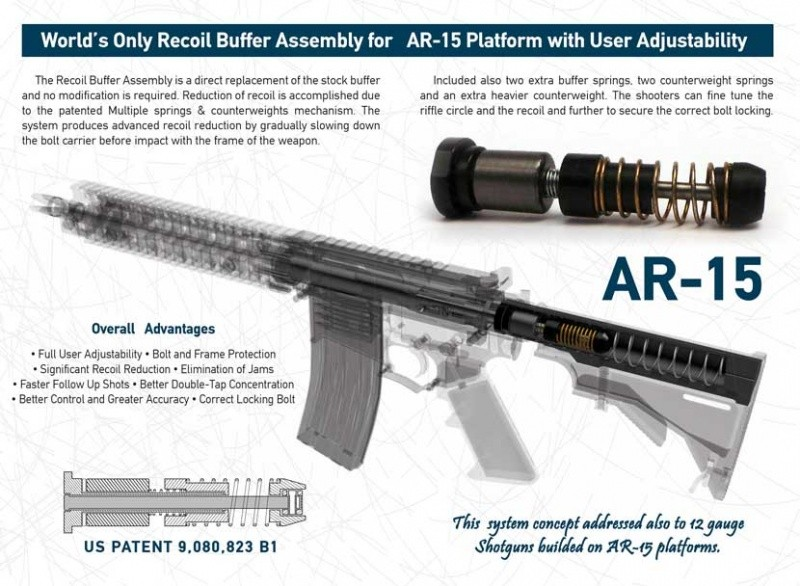 DPM AR-15 Recoil Buffer System for  308 caliber